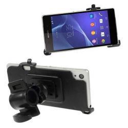 Telefon tartó kerékpárra / biciklire szerelhetõ - 360°-ban forgatható - SONY Xperia Z2 (D6503)