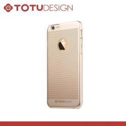 APPLE iPhone 6sTOTU Ambulatory műanyag védő tok  hátlap - lyukacsos minta - ARANY - APPLE iPhone 6 - GYÁRI