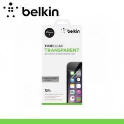 BELKIN képernyővédő fólia törlőkendővel - 3 db - teljesen átlátszó - CLEAR - F8W526BT3 - APPLE iPhone 6 - GYÁRI