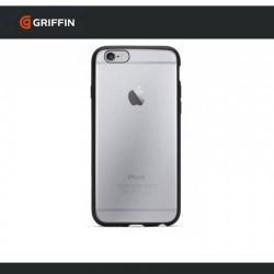 GRIFFIN REVEAL műanyag védő tok / hátlap - szilikon szegély - GB40026 - ÁTLÁTSZÓ / FEKETE - APPLE iPhone 6 Plus - GYÁRI