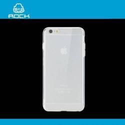 ROCK szilikon védő tok / hátlap - 0,6 mm, ultravékony! - ÁTLÁTSZÓ - APPLE iPhone 6 Plus - GYÁRI
