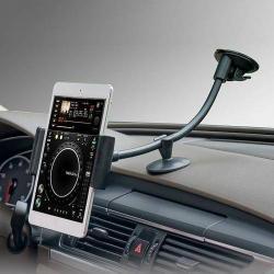Autós / gépkocsi tartó - tapadókorongos, hosszú karral!, 360°-ban forgatható - 5-7