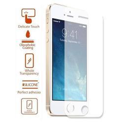 Előlap védő karcálló edzett üveg - 0,3 mm vékony, 9H - APPLE iPhone 5 / APPLE iPhone 5S / APPLE iPhone 5C