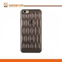 APPLE iPhone 6sBASEUS AIR BAG ultravékony (1mm) szilikon védő tok  hátlap - buborék mintás - ÁTLÁTSZÓ  FEKETE - APPLE iPhone 6 - GYÁRI