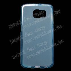 SAMSUNG Galaxy S6 (SM-G920)Szilikon védő tok  hátlap - FLEXI - KÉK - SAMSUNG SM-G920 Galaxy S6
