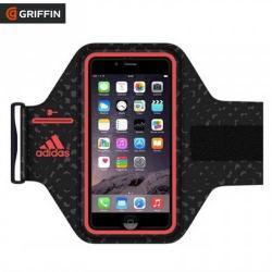 Adidas SPORT tok / karpánt - FEKETE / PIROS - GB40515 - APPLE iPhone 6 - GYÁRI