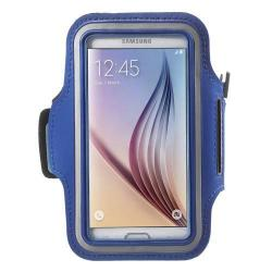 SPORT tok / karpánt - SÖTÉTKÉK - SAMSUNG SM-G920 Galaxy S6 / SAMSUNG SM-G925F Galaxy S6 Edge - 145 x 75mm