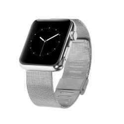 Fém okosóra szíj - EZÜST - Apple Watch 38mm