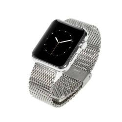 Fém okosóra szíj - EZÜST - Apple Watch 42mm