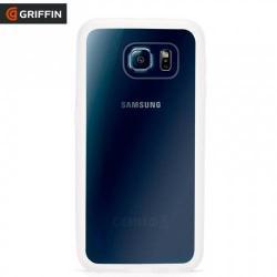 GRIFFIN TECHNOLOGY REVEAL műanyag védő tok / hátlap - szilikon keret - GB41393 - ÁTLÁTSZÓ - SAMSUNG SM-G920 Galaxy S6 - GYÁRI