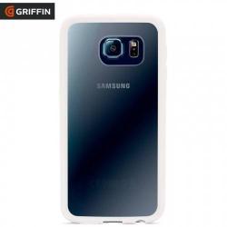 GRIFFIN TECHNOLOGY REVEAL műanyag védő tok / hátlap - szilikon keret - GB41182 - ÁTLÁTSZÓ / FEHÉR - SAMSUNG SM-G920 Galaxy S6 - GYÁRI