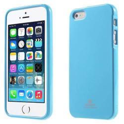 MERCURY szilikon védő tok / hátlap - VILÁGOSKÉK - Apple IPhone 5 / Apple IPhone 5S