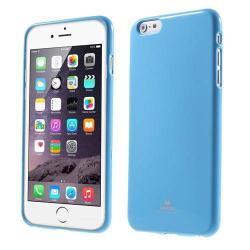 MERCURY szilikon védő tok / hátlap - VILÁGOSKÉK - APPLE iPhone 6