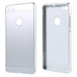 Alumínium védõ tok / hátlap - EZÜST - HUAWEI P8 lite