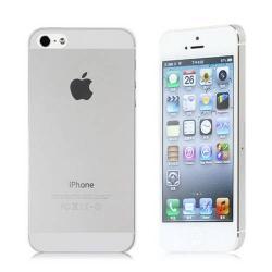 Szilikon védõ tok / hátlap - ULTRAVÉKONY! 0,8mm - ÁTLÁTSZÓ - Apple IPhone 5 / Apple IPhone 5S