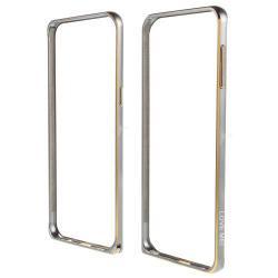 LOVE MEI alumínium védő keret - BUMPER - SZÜRKE - SAMSUNG SM-G928 Galaxy S6. Edge +
