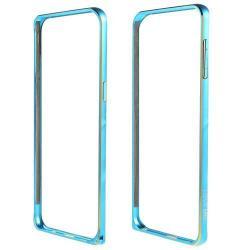 LOVE MEI alumínium védő keret - BUMPER - KÉK - SAMSUNG SM-G928 Galaxy S6. Edge +