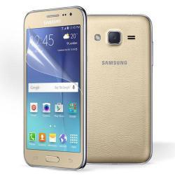 Képernyővédő fólia - Ultra Clear - 1db, törlőkendővel - SAMSUNG SM-J200F Galaxy J2