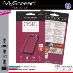 Képernyővédő fólia - CRYSTAL - 1db, törlőkendővel - ZTE Blade S6