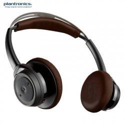 PLANTRONICS BackBeat SENSE SZTEREO BLUETOOTH fejhallgató / headset - mikrofon, audió kezelõ gombok, 3.5 jack kábel, USB töltõ - FEKETE / BARNA - GYÁRI