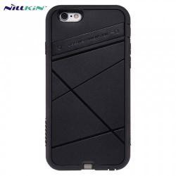 NILLKIN mûanyag védõ tok / hátlap - vezeték nélküli töltés, QI Wireless) FEKETE - APPLE IPhone 6 4.7
