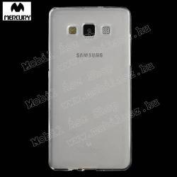 MERCURY szilikon védő tok / hátlap - ÁTLÁTSZÓ - SAMSUNG SM-A500F Galaxy A5