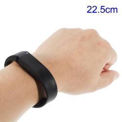 Fitbit Flex pót karkötő - FEKETE - 22,5cm