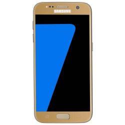 BASEUS előlap védő karcálló edzett üveg - ARANY - 0,3 mm vékony, 9H, Arc Edge - SAMSUNG SM-G930 Galaxy S7
