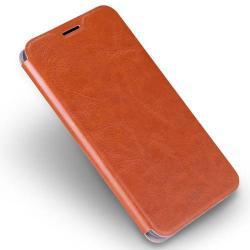 MOFI notesz / mappa tok - BARNA - oldalra nyíló flip cover, asztali tartó funkció, szilikon belső - HUAWEI P9