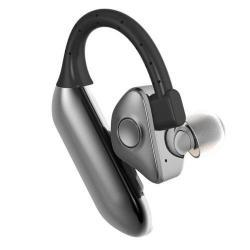 JAD Q8 bluetooth headset / james bond - FEKETE - EXTRA AKKU, V4.0 - GYÁRI