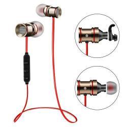 MAGNET SZTEREO SPORT bluetooth headset - ARANY, V4.0, felvevõ gomb, hangerõ szabályzó