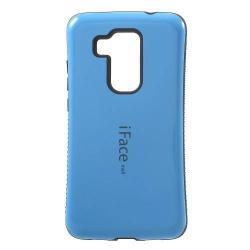 iFace műanyag védő tok / hátlap - KÉK - szilikon betétes - HUAWEI Nova Plus / HUAWEI G9 Plus / HUAWEI Maimang 5