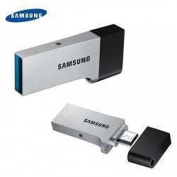 SAMSUNG pendrive/USB Stick  (USB 3.0, Flash Drive, OTG, UFD Duo) 32 GB EZÜST - GYÁRI