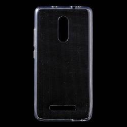 Szilikon védõ tok / hátlap - ULTRAVÉKONY! 0,6mm - ÁTLÁTSZÓ - Xiaomi Redmi Note 3 Special Edition