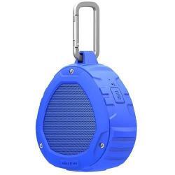 NILLKIN S1 PlayVox hordozható bluetooth hangszóró és kihangosító - CSR 4.0, A2DP/AVRCP/HFP/HSP, 3,5 Jack, STRAPABÍRÓ KIALAKÍTÁS!, IPX4 szabvány szerinti vízállóság - KÉK - GYÁR