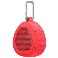 NILLKIN S1 PlayVox hordozható bluetooth hangszóró és kihangosító - CSR 4.0, A2DP/AVRCP/HFP/HSP, 3,5 Jack, STRAPABÍRÓ KIALAKÍTÁS!, IPX4 szabvány szerinti vízállóság - PIROS - GYÁR