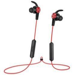 HUAWEI Honor AM61 sztereo sport buetooth headset - PIROS - v4.1, felvevõ és hangerõ szabályzó gombok - GYÁRI