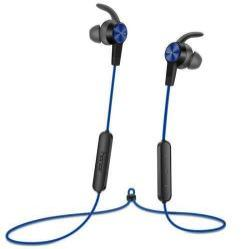 HUAWEI Honor AM61 sztereo sport buetooth headset - KÉK - v4.1, felvevő és hangerő szabályzó gombok - GYÁRI