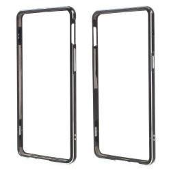 Alumínium védõ keret - BUMPER - FEKETE - OnePlus 3 / OnePlus 3T