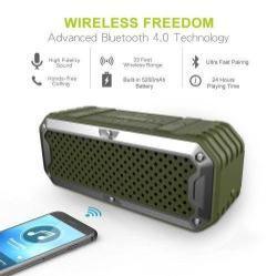 ZEALOT S6 Mini hordozható bluetooth hangszóró és vésztöltõ - 2 in 1, 4000mAh LI-ION, beépített mikrofon - ZÖLD
