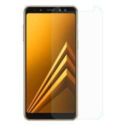 Előlap védő karcálló edzett üveg - 0,3 mm vékony, 9H, Arc Edge - SAMSUNG Galaxy A8 (2018)