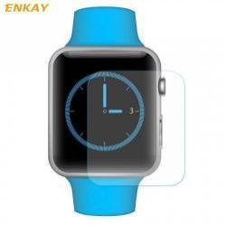 Előlap védő karcálló edzett üveg - ENKAY - 1db, 0.2mm 9H, 2.15D - Apple Watch 1/2/3 - 42mm