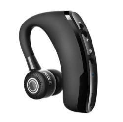 V9 Business bluetooth headset - FEKETE - V4.1, felvevő gomb, egyszerre 2 különböző telefonnal használható!