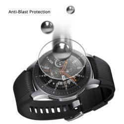 Előlap védő karcálló edzett üveg - 1db - 0.3mm 9H - SAMSUNG Galaxy Watch 46mm / SAMSUNG Gear S3 Classic / SAMSUNG Gear S3 Frontier