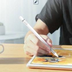 ROCK B01 érintőképernyő ceruza - kapacitív kijelzőkhöz, aktív érzékelő technológia, beépített újratölthető akkumulátorral, kézírásra, rajzolásra is alkalmas - FEHÉR