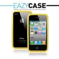 Apple iPhone 4/Apple iPhone 4S szilikon védõkeret - Bumper sárga