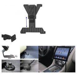 UNIVERZÁLIS gépkocsi / autós tartó - GPS / TABLET - állítható, üléssínhez rögzíthető
