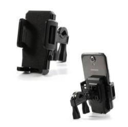 UNIVERZÁLIS telefon tartó kerékpárra / biciklire  - 360°-ban forgatható, kormányra rögzíthető
