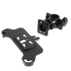 Telefon tartó kerékpárra / biciklire - 360°-ban forgatható, kormányra rögzíthető - FEKETE - APPLE iPhone 6