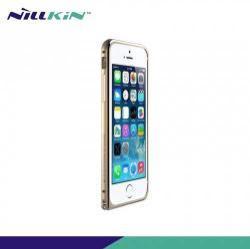 NILLKIN GOTHIC BORDER alumínium védő keret - BUMPER - ARANY - APPLE iPhone 6 - GYÁRI